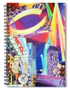 Phish New Years In New York Left Panel Spiral Notebook