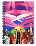 Phish New Years In New York Middle Spiral Notebook