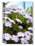 Phlox Spiral Notebook
