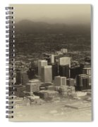 Phoenix Az Downtown 2014 Heirloom Spiral Notebook