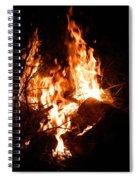 Phoenix Se Levant Des Flammes Spiral Notebook
