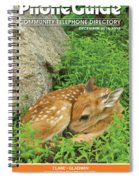 Phone Book Cover Spiral Notebook