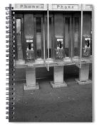 Phone Booth In New York City Spiral Notebook