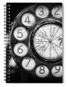 Phone Number 7 Spiral Notebook