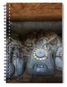 Phone Shelf  Spiral Notebook