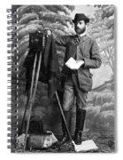 Photographer, 1900 Spiral Notebook