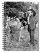 Photographer, C1911 Spiral Notebook