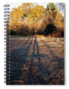Photographer Shadow Spiral Notebook