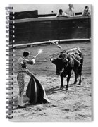 Photographers Including Dick Frontain Bullfight Nogales Sonora Mexico 1969 Spiral Notebook