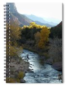 Photographing Zion National Park Spiral Notebook