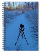 Photography In The Winter Spiral Notebook