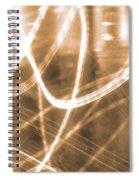 Photon Flow Spiral Notebook