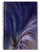 Photonic Cascade At The Sea Of Solitude Spiral Notebook