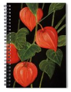 Physalis Spiral Notebook