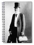 Physician, 1891 Spiral Notebook