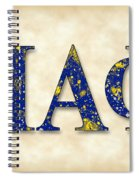 Pi Alpha Phi - Parchment Spiral Notebook