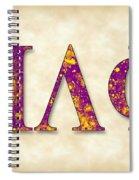 Pi Lambda Phi - Parchment Spiral Notebook