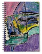 Piano Green Spiral Notebook