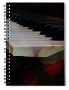Piano Magic Spiral Notebook