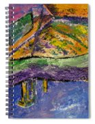 Piano Purple Spiral Notebook