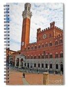 Piazza Del Campo Spiral Notebook