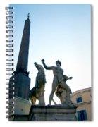 Piazza Del Quirinale Spiral Notebook