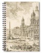 Piazza Navona Spiral Notebook