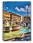 Piazza Navona - Rome Spiral Notebook
