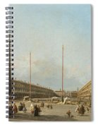 Piazza San Marco Looking South And West Spiral Notebook