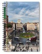 Piazza Venezia Spiral Notebook