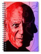 Picasso In Light Sketch 2 Spiral Notebook
