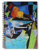 Picasso   Night Fishing At Antibes Spiral Notebook