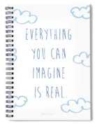 Picasso Quote Spiral Notebook