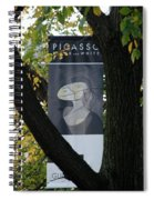 Picasso Spiral Notebook