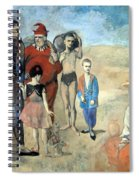 Picasso's Family Of Saltimbanques Spiral Notebook