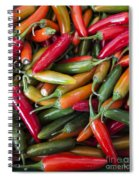 Pick A Peck Of Peppers Spiral Notebook
