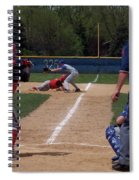 Pick Off Attempt At 1st Base Spiral Notebook