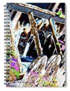 Picket Line Spiral Notebook