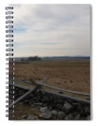 Picketts Charge The Angle Spiral Notebook