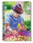 Picking Apples Spiral Notebook