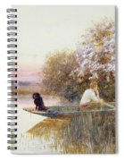 Picking Blossoms Spiral Notebook