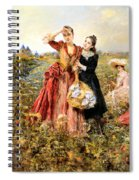 Picking Wildflowers Spiral Notebook