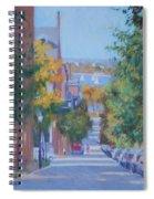 Pickney Street Fall Spiral Notebook