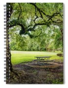 Picnic At The Park Spiral Notebook