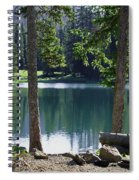 Picnic By The Lake Spiral Notebook