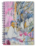 Picnic On The Beach Spiral Notebook
