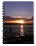 Picnic Sunset Vancouver Island Spiral Notebook