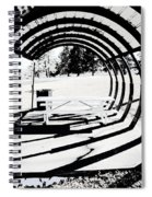 Picnic Table And Gazebo Spiral Notebook