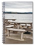 Picnic Tables Spiral Notebook