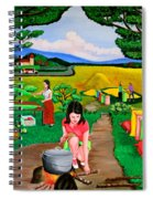 Picnic With The Farmers Spiral Notebook